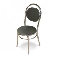 Cadeira de Cozinha Mobly Cromado 0190 Preta