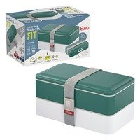 Marmita Lunch Box Fit - Euro Home - Verde
