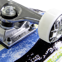 Skateboard Mormaii Chill Azul, Preto e Branco