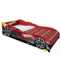 Cama Pura Magia Hot Wheels Plus Vermelha