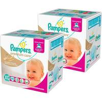 Kit 2 Fraldas Pampers Premium Care Hiper XG
