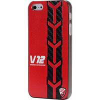 Capa IPhone 5 IKase GVCY 0084 Lamborghini V12 Red