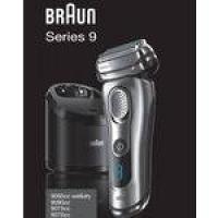 Barbeador Elétrico com Grelha Braun Series 9 Wet & Dry, Com Base de Carregamento e Estojo - BIVOLT