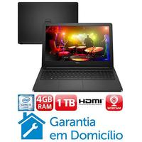 Notebook Dell Inspiron I15 5566 d10p Intel Core I3 6006u 4gb 1tb 15.6 Linux