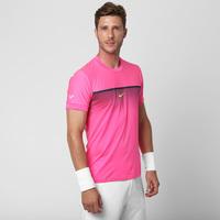 b57f992640 Camiseta Nike Challenger Rafael Nadal Prem Crew Masculina Rosa