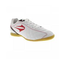 2fe9d26621bb0 Chuteira Futsal Topper Titanium IV Masculino Branca