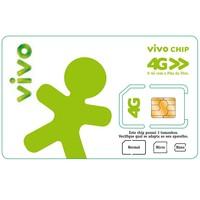 Chip Vivo 4g Triplo Corte Chip De Celular