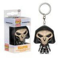 Chaveiro Funko Pop Caveira Keychain Overwatch Reaper