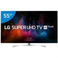 Smart TV LED 55 LG 4k 55SK8500PSA Conversor Digital