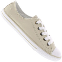 5af65f1a6c Tênis Converse All Star Ct As Dainty Leather Ox Feminino Marrom Claro