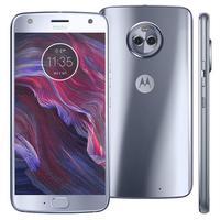 Smartphone Motorola Moto X4 XT1900 Desbloqueado GSM 32GB Dual Chip Android 7.1 Azul Topázio