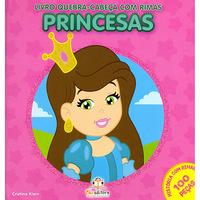 Quebra-Cabeça Com Rimas:Princesas