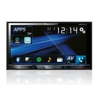 Dvd Player AVH-X598TV 2 din Bluetooth Waze Pioneer Diversos