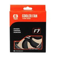 Cooler FAN 120mm Ventilador para Gabinete Storm Series C3 Tech F7-100BK
