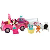 Figura e Veículo Transformável Disney Minnie Mouse Van das Amigas Fisher-Price