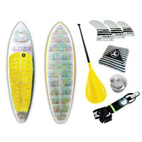 Prancha Soul Fins Stand Up Paddle White 100 + Acessórios Multicolorido