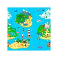 Tapete Infantil Safety 1st Play Mat Magical Island Dupla Face 1 Peça 185x125cm