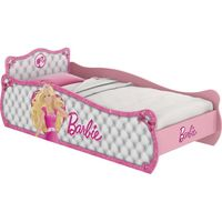 Cama Pura Magia Barbie Star Branca e Rosa