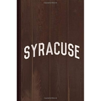Syracuse Journal Notebook: Blank Lined Ruled For Writing 6x9 110 Pages