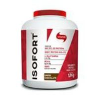 Kit Atacado 2x Isofort Whey Vitafor 100% Isolado 1800g Baunilha