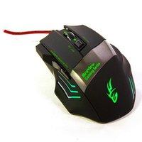 Mouse Gamer BraView Óptico MO-192 Preto/Verde