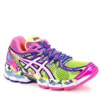 1df71356ae5e7 Tênis Running Asics Nimbus 16 Feminino Colorido Tamanho 39