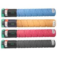 Kit Colorido 4 Cores para Toner Compatível Ricoh MPC2051 MPC2030 MPC2050 MPC2551 MPC2530 2050 2030 2551 2530 2550 C2050 Ricoh