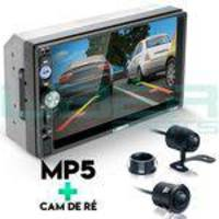 Central Multimídia Mp5 Corsa Câmera Bluetooth Espelhamento Android Ios