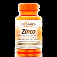 Suplemento Mineral Sundown Naturals Zinco 90 Comprimidos