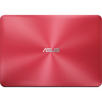 Notebook Asus Z450LA WX010T Core i3 4005U 1.7GHz 4GB 1TB Windows 10 Vermelho + Microsoft Office Home & Business 2016 Download