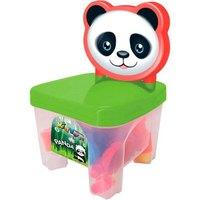Cadeirinha c/ Blocos de Montar Kidverte Panda - Big-Star