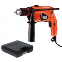 Furadeira de Impacto 1/2'' Black&Decker HD505K 500 Watts 2800 RPM 110V