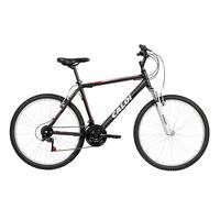 af3afbfec Bicicleta Caloi Aro 26 21 Marchas Aluminum Sport Preta Fosca Vermelha e  Cinza