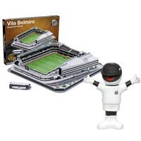 Maquete Oficial 3D Mascotemania Estádio Vila Belmiro + Mascote Oficial  Santos Uniforme 1 af44f17b6d310