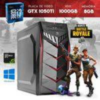Computador Moba Box CPU Core i3 8GB RAM GTX 1050 Ti 4GB 128 Bits 1000GB HDD YessTech Power