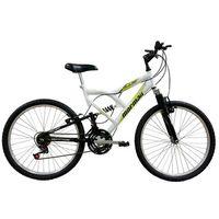 Bicicleta Mormaii Aro 24 Fullsion Branco