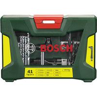 Kit Bosch V-Line Acessórios para Furadeiras e Parafusadeiras 41 Peças