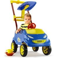 Mini Carro Homeplay Baby Car Azul Escuro