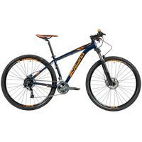 Bicicleta Caloi Schwinn Kalahari T17 Aro 29 27 Marchas Azul e Laranja