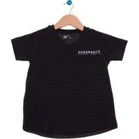 Camiseta Infantil Preta Nice Puramania