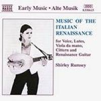 CD Music of the Italian Renaissance: For Voice, Lutes, Viola da Mano, Cittern and Renaissance Guitar