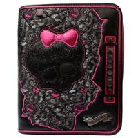 Caderno Argolado Tilibra Top Monster High 6 Divisórias