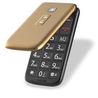 Celular Multilaser Flip Vita P9043 Desbloqueado GSM Dual Chip Dourado