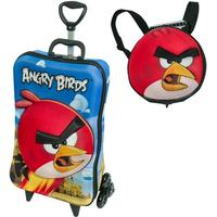 Mochilete 3d Angry Birds Red Com Lancheira Maxtoy