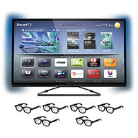 TV Smart LED 3D 42´´ Philips 42PFL5508 + 6 Óculos