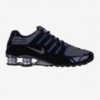 Tênis Nike Shox NZ Eu Masculino Preto e Azul  95f3316df706e