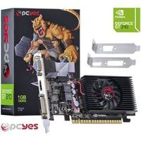Placa De Video Pcyes Geforce Nvidia Gt210 1gb Ddr3 64 Bits Low Profile N21t2gd364lp 4131815