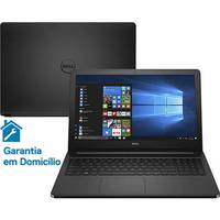 Notebook Dell Inspiron i15-5566-A50P Intel Core I7 7500U 8GB 240GB 2.7GHz Led 15.6 Windows 10 Preto