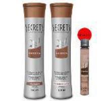 Kit Shampoo + Condicionador Mandioca 300ml - Secrets Professional