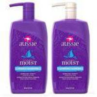 Kit Shampoo+condicionador Aussie Moist 865ml